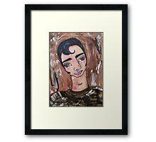 Brian Williams #2 Framed Print