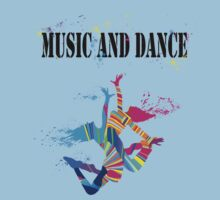 MUSIC AND DANCE Kids Clothes