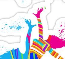 MUSIC AND DANCE Sticker