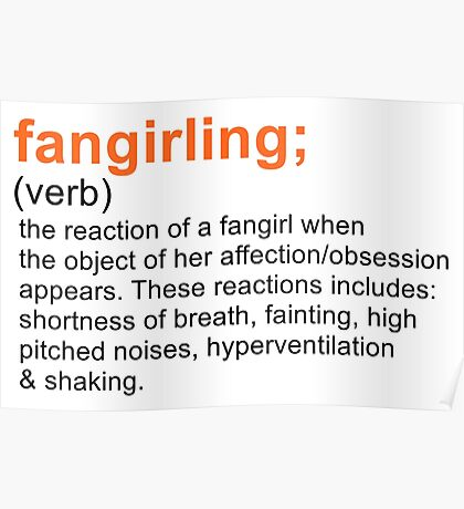 Fangirling Poster
