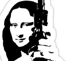 Dirty Mona Sticker