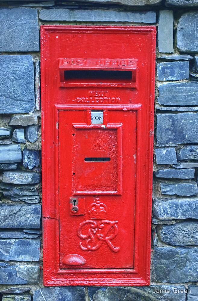 George VI Postbox by Jamie  Green