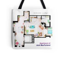 "Jack MacFarland's apartment from ""Will & Grace"" Tote Bag"