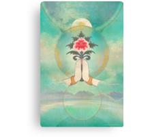 Divine Offering (Anjali Mudra) Canvas Print