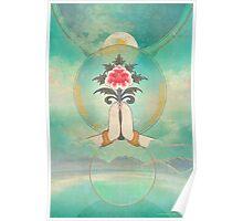 Divine Offering (Anjali Mudra) Poster