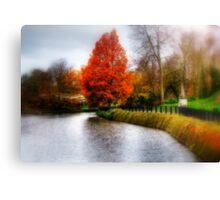 Autumn Tree in Tunbridge Wells  Canvas Print