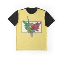 Basketball Graffiti Graphic T-Shirt
