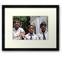 Sri Lanka, Jaffna Framed Print