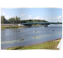 On river Kotorosl  Poster
