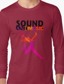 SOUND AND MUSIC Long Sleeve T-Shirt