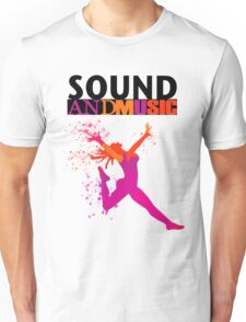 SOUND AND MUSIC Unisex T-Shirt