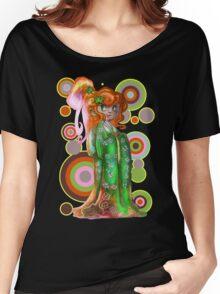 Ginger Kimono Girl Women's Relaxed Fit T-Shirt