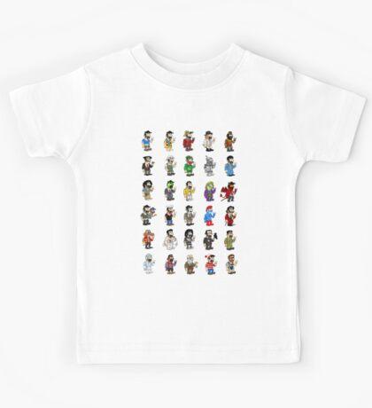 The Costumes of Luigi Kids Tee