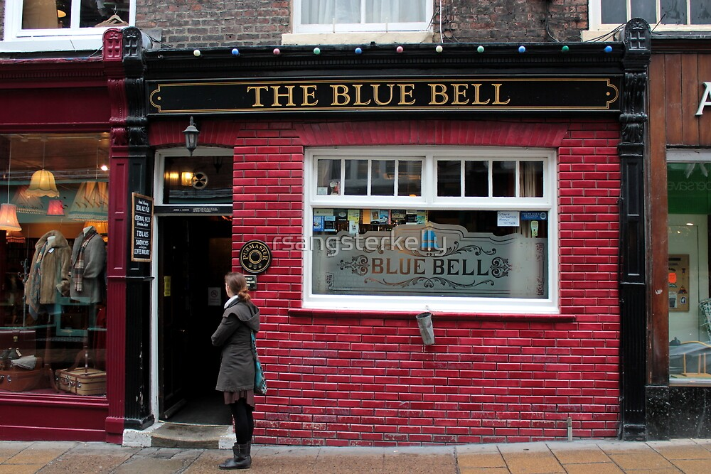 The Blue Bell - York by rsangsterkelly