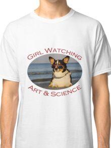 Girl Watching: Art & Science Classic T-Shirt