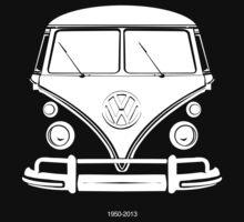 VW BUS, 1950-2013 One Piece - Short Sleeve
