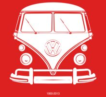 VW BUS, 1950-2013 One Piece - Short Sleeve