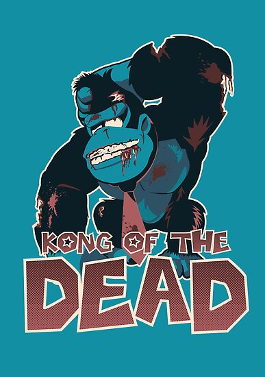 Kong of the Dead by moysche