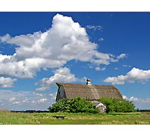 Prairie Past Photographic Print