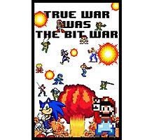 True war was the bit war Photographic Print