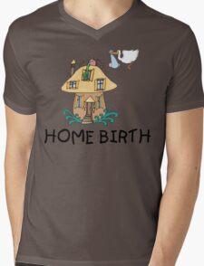 Home Birth Mens V-Neck T-Shirt