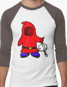 The Real Shy Guy Men's Baseball ¾ T-Shirt