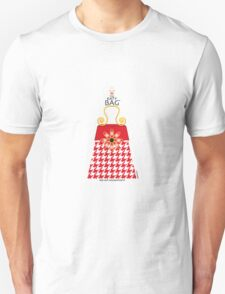 The Katy Bag / Red Hot Houndstooth T-Shirt