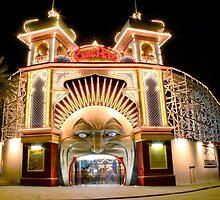 Luna Park, Melbourne by Stuart Robertson Reynolds