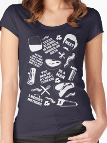 Ron Swanson Fanboy/Fangirl Women's Fitted Scoop T-Shirt