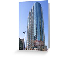 Winnipeg Skyscraper Greeting Card