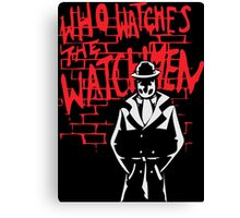 Rorschach - Who watches the WATCHMEN Canvas Print