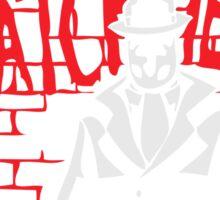 Rorschach - Who watches the WATCHMEN Sticker