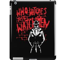 Rorschach - Who watches the WATCHMEN iPad Case/Skin