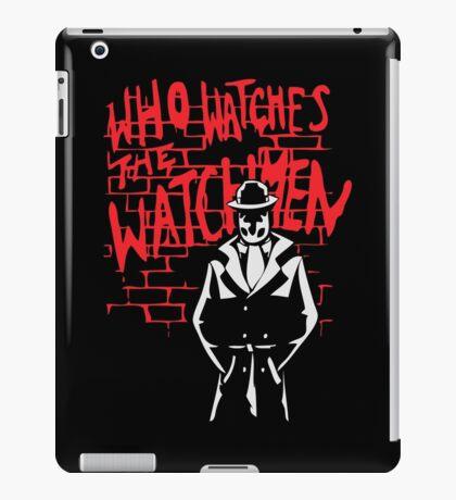Rorschach - Who watches the WATCHMEN iPad Case/Skin