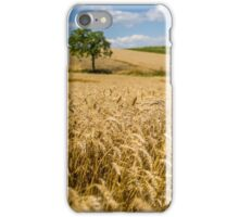 Wheat and A Tree iPhone Case/Skin
