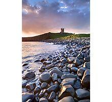 Dunstanburgh Castle Dawn Photographic Print
