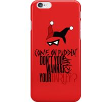 Rev Up Your Harley (Red) iPhone Case/Skin
