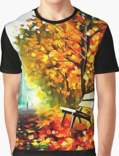 Lonely Bench Graphic T-Shirt