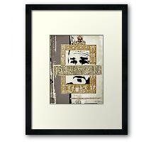 Icons: Señor DEATH Framed Print