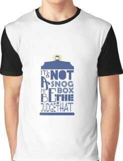 snog box - tardis Graphic T-Shirt