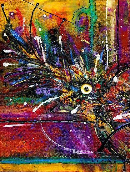 Funky Feathers Tickle Me by © Angela L Walker