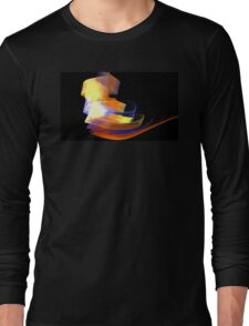 Orange Caldera Long Sleeve T-Shirt