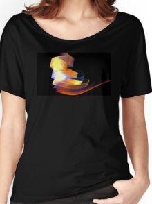 Orange Caldera Women's Relaxed Fit T-Shirt