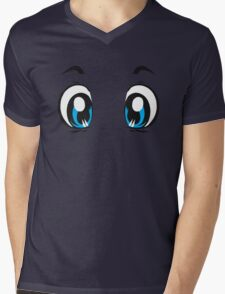 Kawaii-Eyes 1 Mens V-Neck T-Shirt