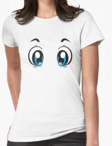 Kawaii-Eyes 1 Womens Fitted T-Shirt