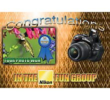 """Banner - won first place in the Nikon Fun Group"""" Photographic Print"""