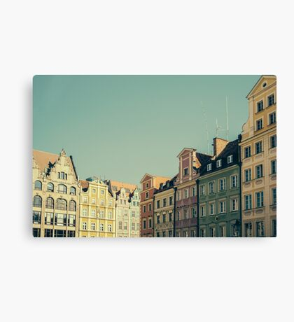 Wroclaw Architecture Canvas Print