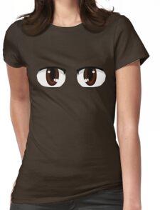 Kawaii-Eyes 2 Womens Fitted T-Shirt