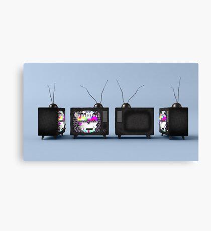 TV Series // 01 Canvas Print