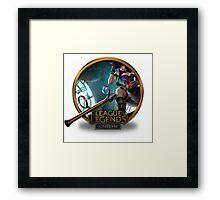 Caitlyn - League of Legends Framed Print